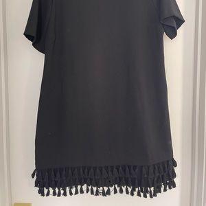 Zara Shift Dress with Tassels
